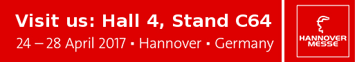 HANNOVER MESSE -VISIT US @ HALL 4 BOOTH C64!